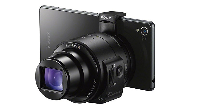 Sony QX30 lens-style camera zoom