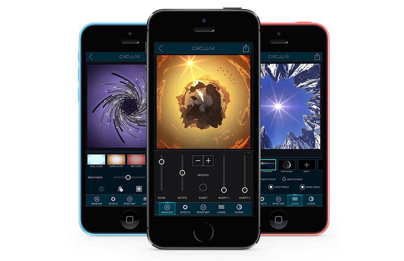 App per modificare foto Circular