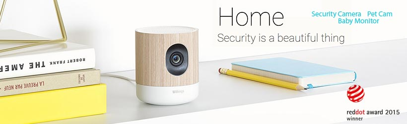 Withings Home - Videocamera di sicurezza wireless