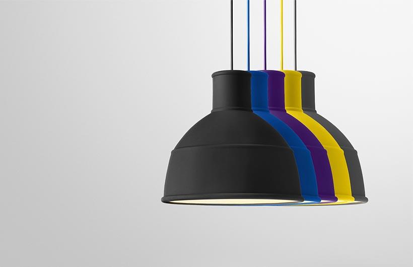 Muuto Unfold Lampada Sospensione in silicone