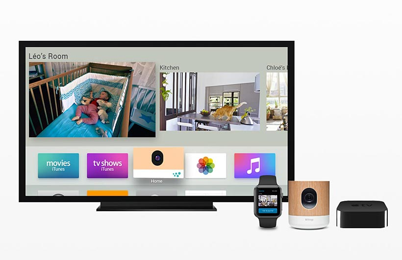 Withings Home Videocamera HD di Sorveglianza