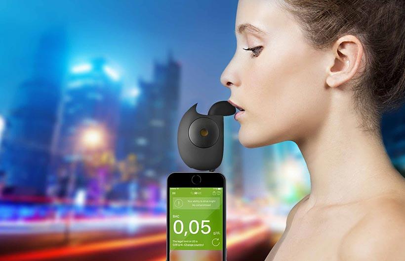 Etilometro Floome per smartphone
