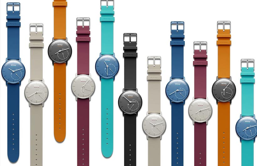 Contapassi da polso Withings Activité Pop