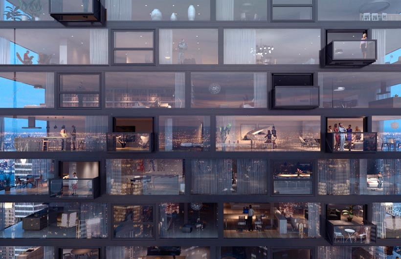 Finestra balcone bloomframe novit in architettura for Finestra balcone