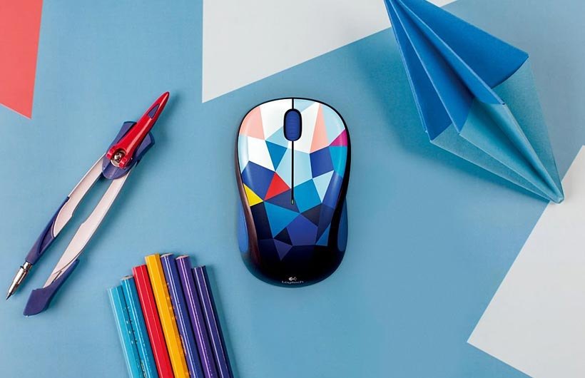 Logitech Mouse wireless colorati - Play Collection