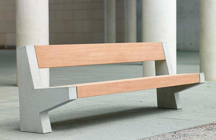 panche da esterno di design arredo urbano di qualit