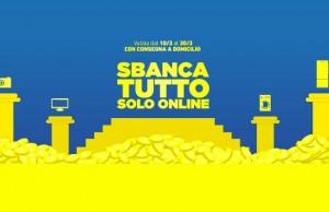 Sconti online Sbanca Tutto Euronics