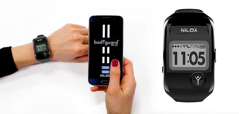 Smartwatch Tracker GPS Nilox Bodyguard