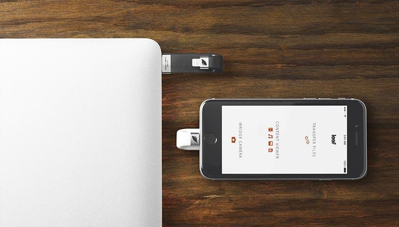 Memoria esterna per iPhone 6 Leef iBridge