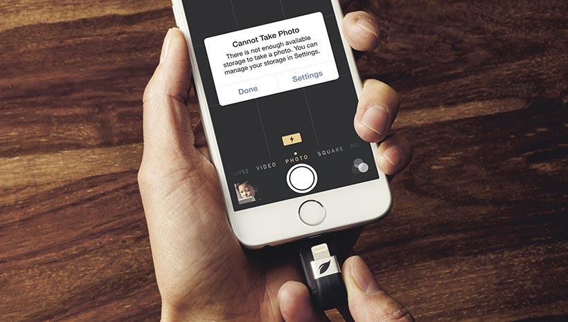 Memoria esterna per iPhone Leef iBridge