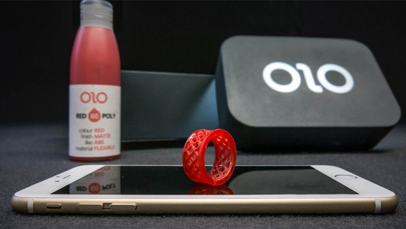Olo. stampante 3D da smartphone
