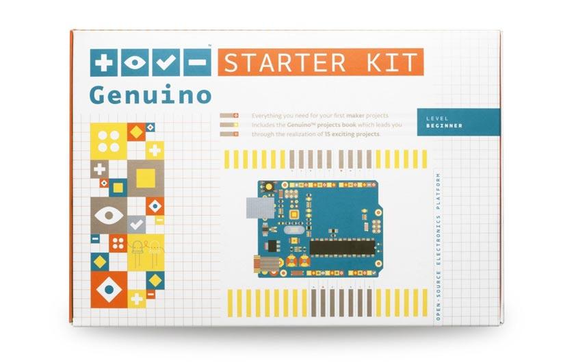 Progetti Arduino, Genuino Starter Kit