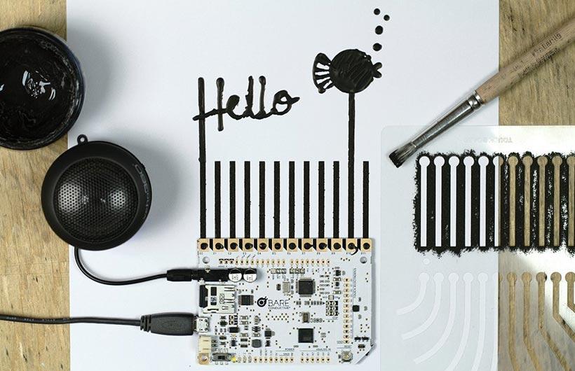 touch board arduino