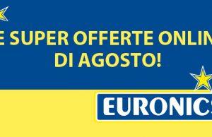 Offerte Euronics online di agosto