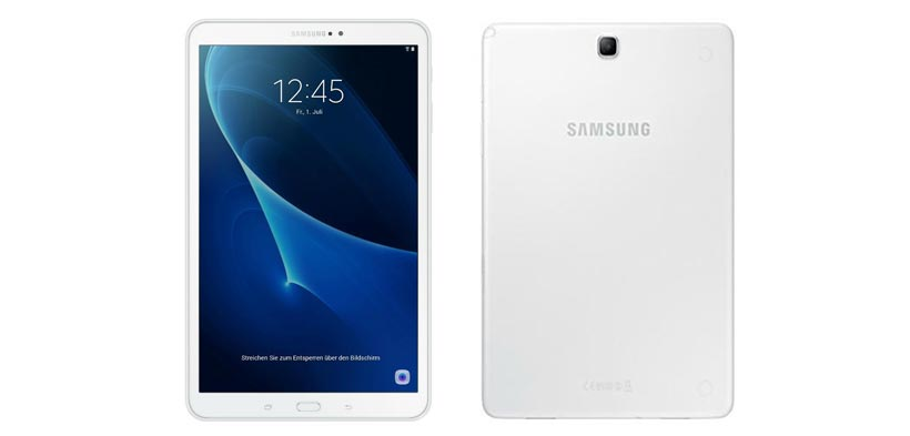 Back to School – I Tablet: Samsung GALAXY TAB A T585 LTE White