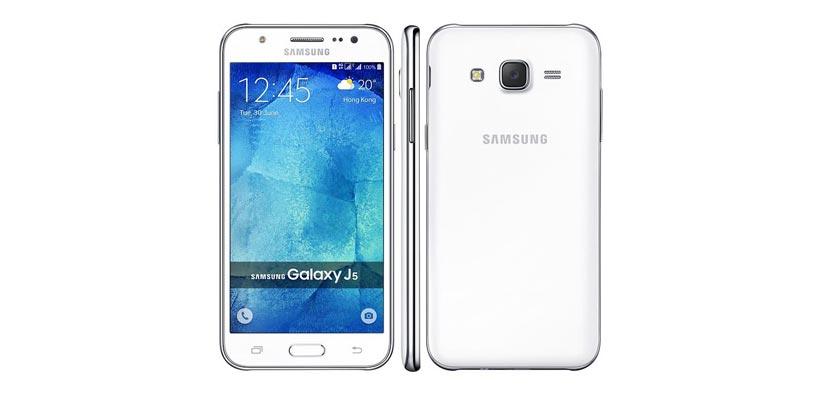 Smartphone Samsung Galaxy J5 white