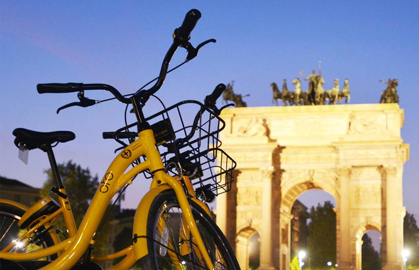 Il Bike Sharing Free Floating OFO approda anche in Italia