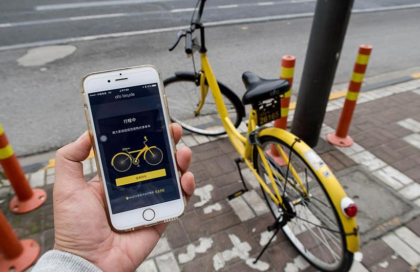 Il bike sharing free floating ofo approda anche in italia for Mobile milano bike sharing