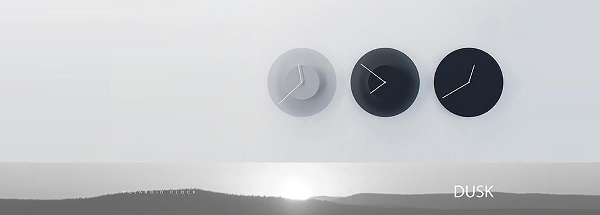 Dusk orologio che cambia colore