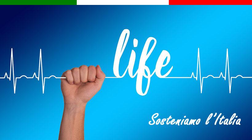 raccolta fondi coronavirus italia
