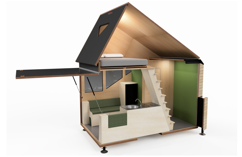 casa mobile a due piani